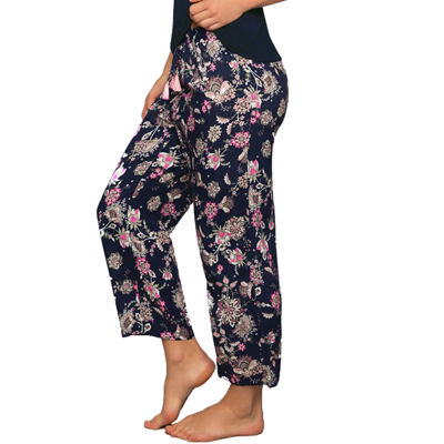 Dorina Womens-Average + Full Figure Microfiber Pajama Pants