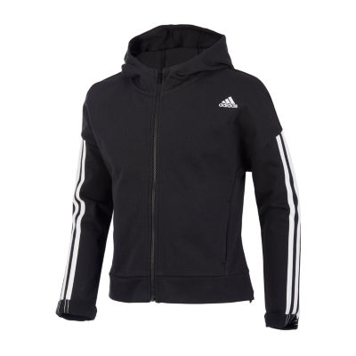 adidas Girls Lightweight Cropped Jacket