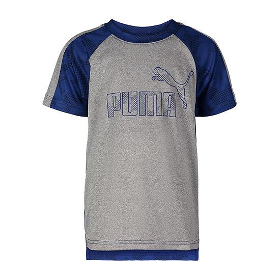 Puma Kids Apparel Graphic T-Shirt-Preschool Boys - JCPenney 1f6d3e92b