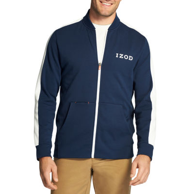 IZOD Advantage Performance Fleece Long Sleeve Track Jacket