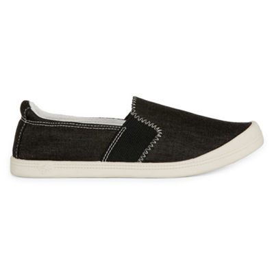 Pop Baron Womens Round Toe Slip-On Shoes