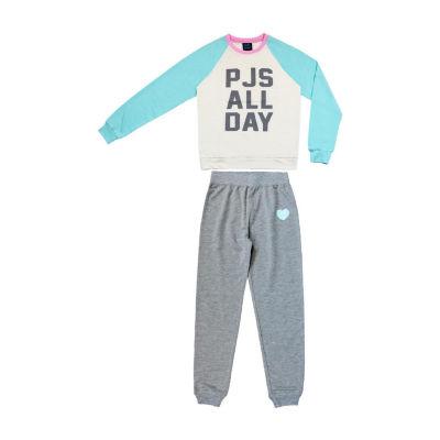 Jelli Fish Kids 2-pc. Pant Pajama Set Girls