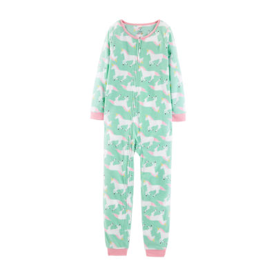 Carter's Fleece One Piece Pajama - Preschool Girl