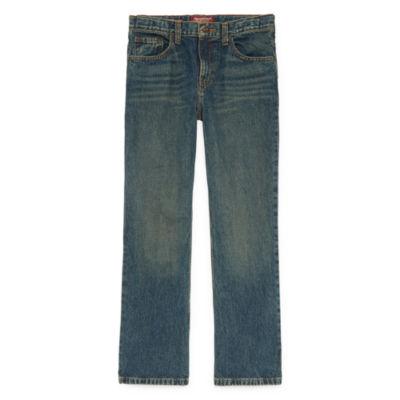 Arizona Bootcut Fit Jeans Boys 4-20, Slim & Husky