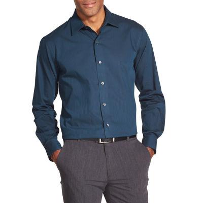 Van Heusen Striped Long-Sleeve Button-Down Shirt