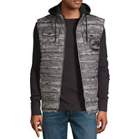 Ecko Unltd Fleece Heavyweight Quilted Jacket
