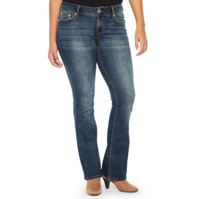 a.n.a Aztec Pocket Modern Fit Bootcut Jeans