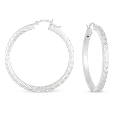40.1mm Hoop Earrings