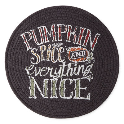JCPenney Home 4-pc. Pumpkin Spice Placemats