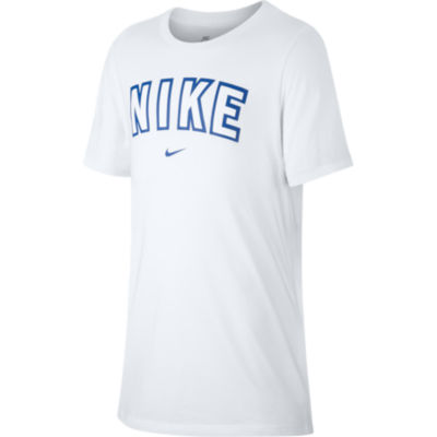 Nike Short Sleeve Round Neck T-Shirt-Big Kid Boys