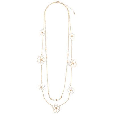 Decree 30 Inch Semisolid Link Chain Necklace
