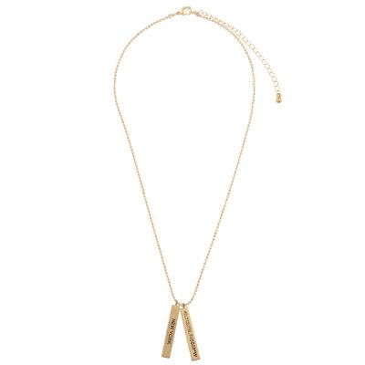 Decree New York Womens Pendant Necklace