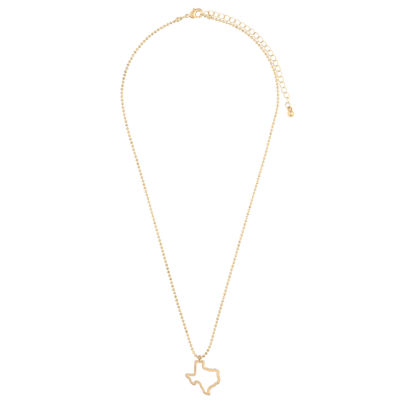 Decree Texas Womens Pendant Necklace
