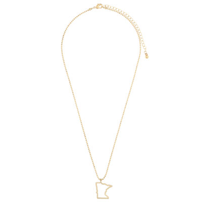 Decree Minnesota Womens Pendant Necklace