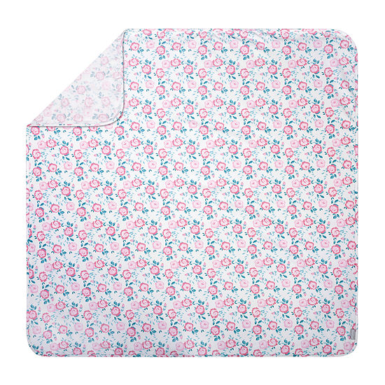 Trend Lab Emma Floral Blanket - Girls