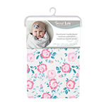 Trend Lab Emma Floral Blanket Girls