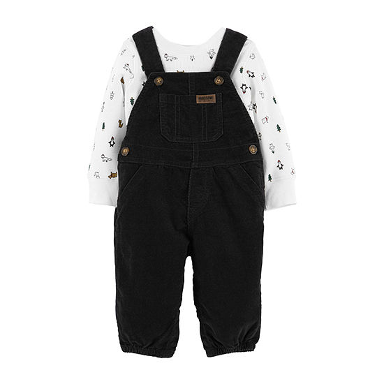Carter's Boys 2-pc. Overall Set-Baby