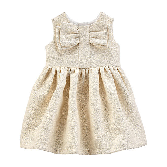 Carter's Girls Long Sleeve A-Line Dress - Baby