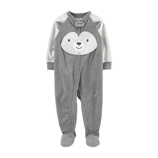 Carter's Unisex Microfleece One Piece Pajama Long Sleeve