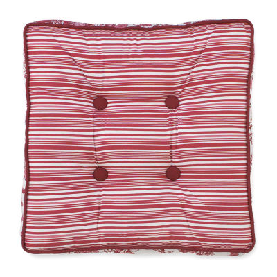 Toile Garden Square Decorative Pillow