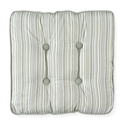 Toile Garden Square Decorative Pillow