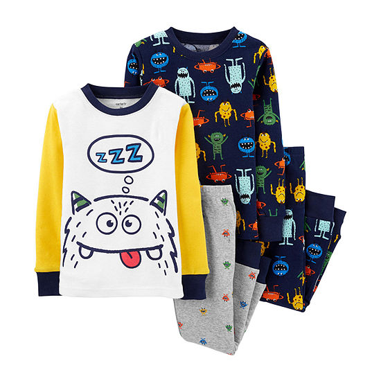 Carter's Boys 4-pc. Pajama Set Baby