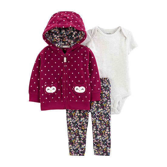 Carter's Girls 3-pc. Legging Set-Baby