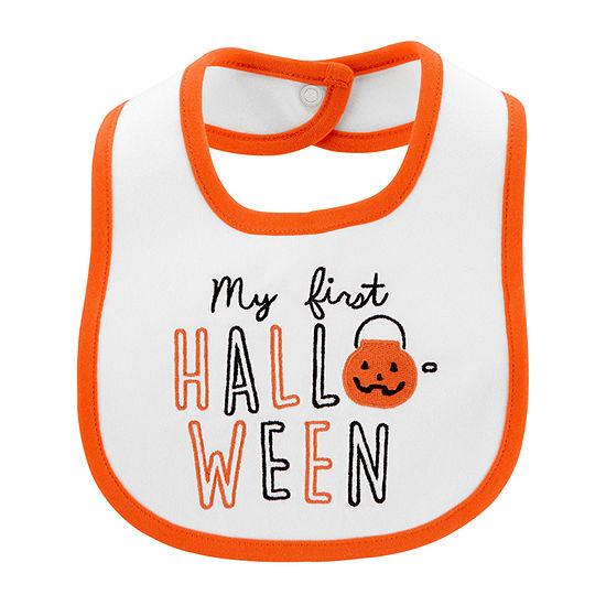 Carter's First Halloween Unisex Bib