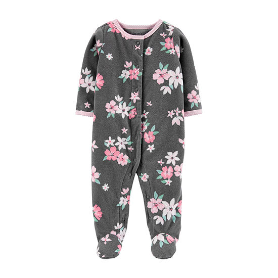 Carter's Floral Girls Sleep and Play - Baby