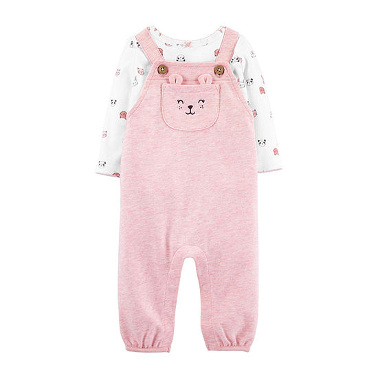 Carter's Girls 2-pc. Overall Set-Baby
