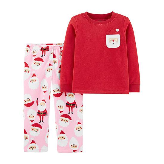 Carter's Christmas Girls 2-pc. Pajama Set Baby