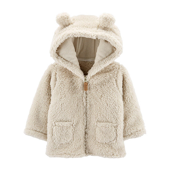 Carter's Baby Unisex Hooded Neck Long Sleeve Cardigan