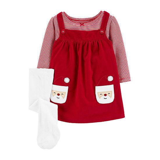 Carter's Santa- Jumper 3 Piece- Baby