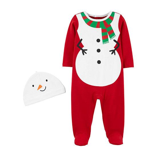 Carter's Christmas Unisex Sleep and Play - Baby