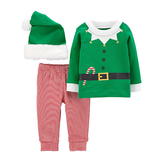 Carter's Christmas Unisex 3-pc. Legging Set-Baby