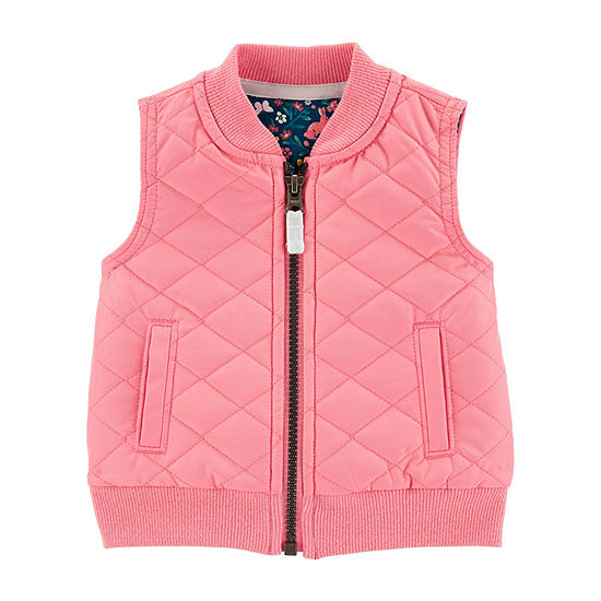 Carter's Girls Quilted Vest Baby