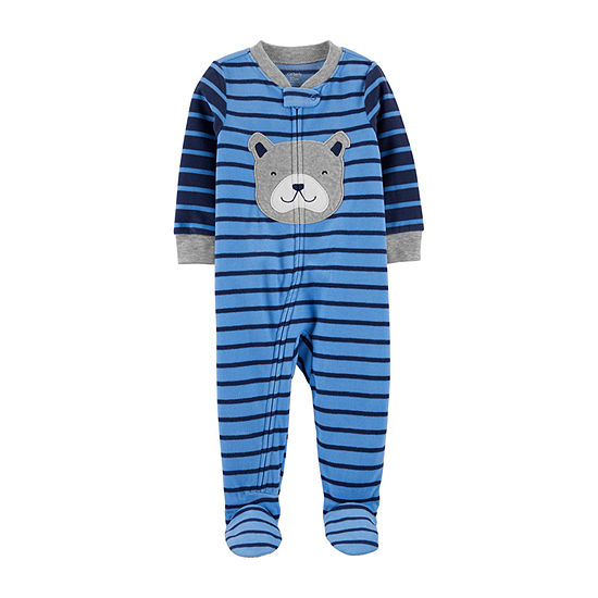 Carter's Toddler Boys Fleece Long Sleeve One Piece Pajama