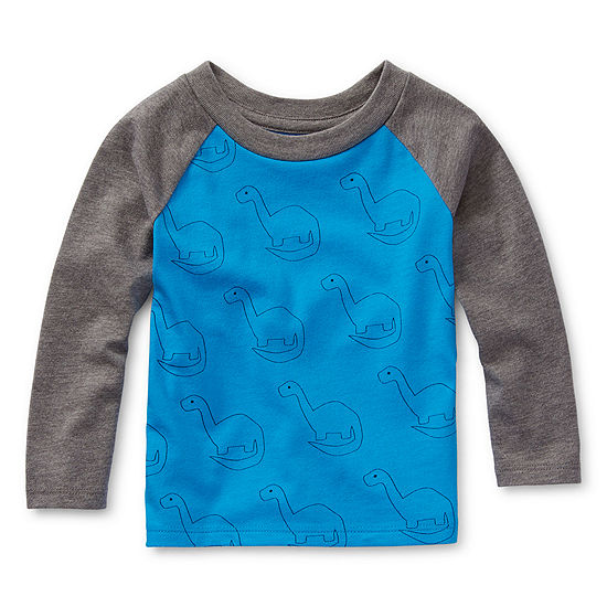 Okie Dokie Boys Crew Neck Long Sleeve T-Shirt-Baby