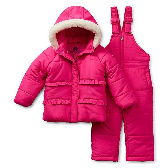 Weatherproof Baby Girls Heavyweight Snow Suit