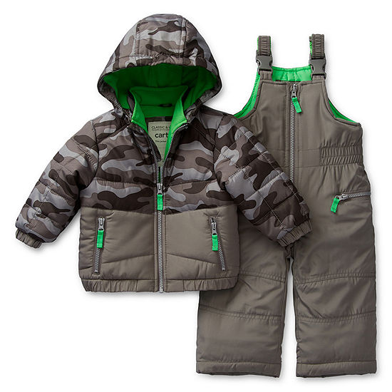 Carter's Boys Heavyweight Camouflage Snow Suit-Baby