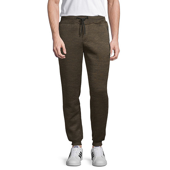 Akademiks Mens Classic Fit Sherpa Lined Jogger Pant