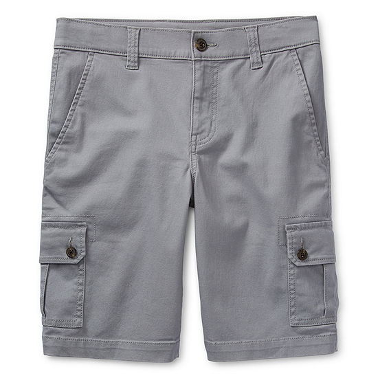 Arizona Little Kid / Big Kid Boys Stretch Adjustable Waist Cargo Short