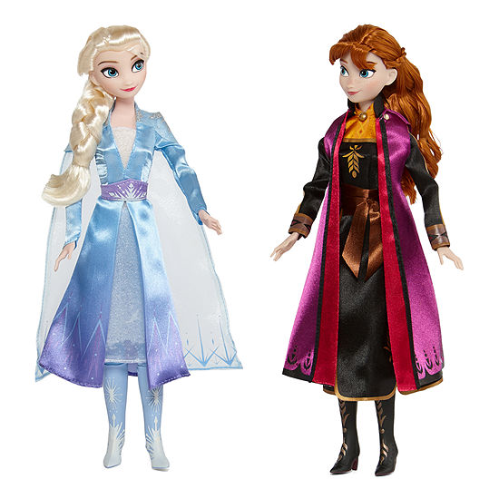 Disney Frozen 2 Elsa & Anna Dolls