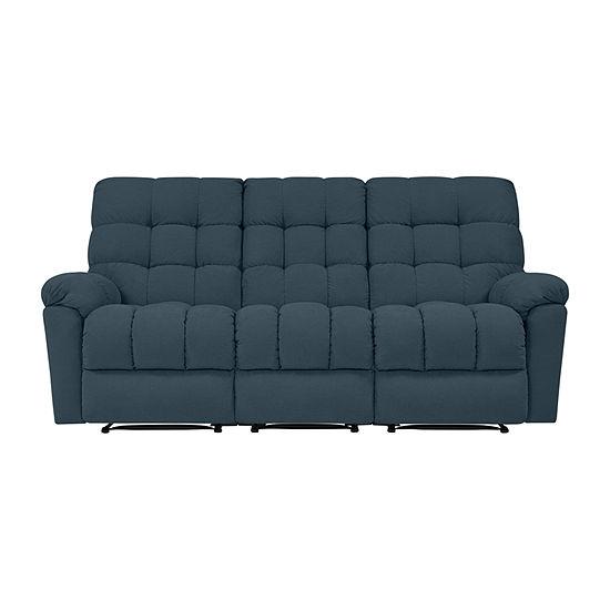 Errol 3 Seat Wall Hugger Recliner Sofa