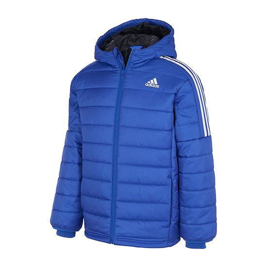 adidas Little & Big Boys Midweight Puffer Jacket
