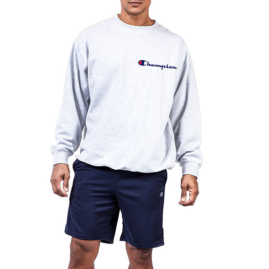 Champion Big & Tall Mens Crew Neck Long Sleeve Sweatshirt