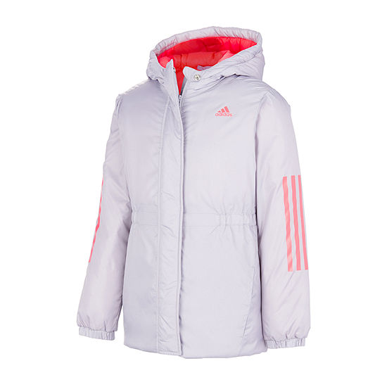 adidas Little & Big Girls Midweight Parka