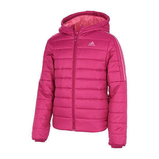 adidas Little & Big Girls Midweight Puffer Jacket