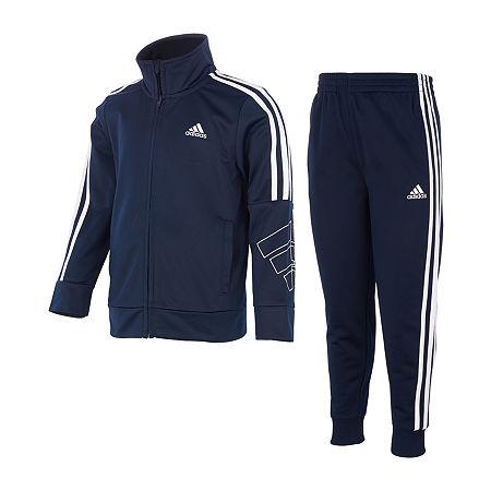 adidas Toddler Boys 2-pc. Pant Set, 4t , Blue