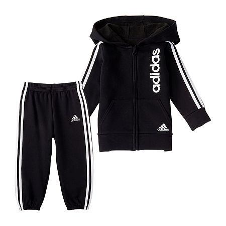 adidas Toddler Boys 2-pc. Pant Set, 2t , Black